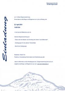 Einladung BV 04